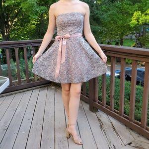 Stapless Homecoming  Sadie's Prom Dress